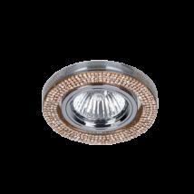 Elmark arany kristály álmennyezeti beépíthető modern spotlámpa 925776R/GD