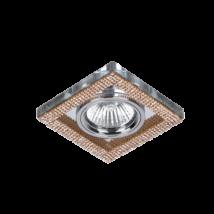 Elmark arany kristály álmennyezeti beépíthető modern spotlámpa 925776S/GD