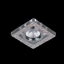 Elmark ezüst kristály álmennyezeti beépíthető modern spotlámpa 925776S/SL