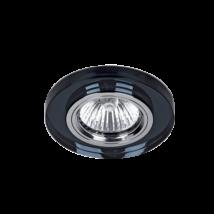 Elmark modern álmennyezeti beépíthető üveg spotlámpa 925777R/BK