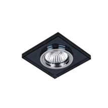 Elmark modern álmennyezeti beépíthető üveg spotlámpa 925777S/BK