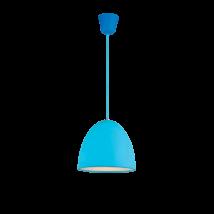 Elmark Joy színes mennyezeti kék D25 E27 függeszték 955joy1/bl