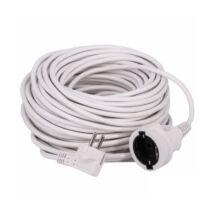 Steck fűnyíró hálózati lengő hosszabbító fehér színű 20m 2500W IP20 SH 20F
