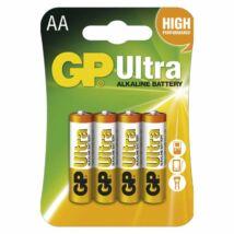 GP ULTRA tartós alkáli elem LR6 (AA) 4db /bliszter B1921