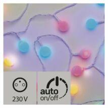 Emos cherry színes dekor fényfüzér időzítővel 4m 40LED IP44 ZY2023T