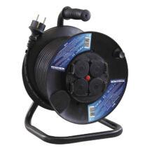 Emos gumi kábeldob 25 m H05RR-F3G 3x1,5 mm2 4 db aljzat IP44 P08225