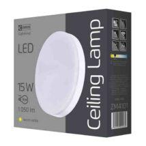 Emos LED mennyezeti lámpa 15W 3000K meleg fehér kerek IP44 ZM4101