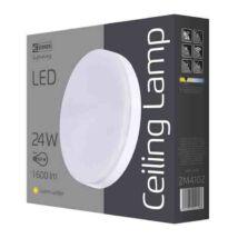 Emos LED mennyezeti lámpa 24W 3000K meleg fehér kerek IP44 ZM4102