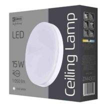 Emos LED mennyezeti lámpa 15W 4000K természetes fehér kerek IP44 ZM4301