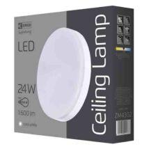 Emos LED mennyezeti lámpa 24W 4000K természetes fehér kerek IP44 ZM4302