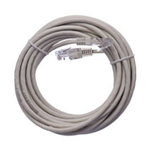 Emos szerelt UTP patch kábel 5m Cat5e szürke S9125