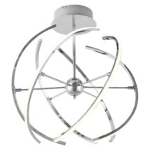 Alyson LED 48W 2765 Lm 3000K króm mennyezeti lámpatest Rábalux 2433