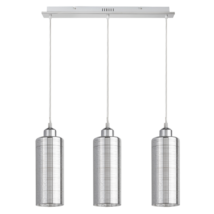 Vera modern háromágú függeszték E27 ezüst Rábalux 2203