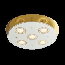Naomi LED GU10X5 15W 3000K 400Lm 38x38 mennyezeti lámpa Rábalux 2256