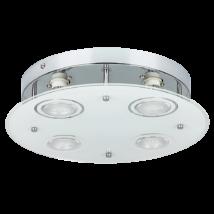 Naomi LED GU10 x4 15W 3000K 400Lm D30 mennyezeti lámpa Rábalux 2513