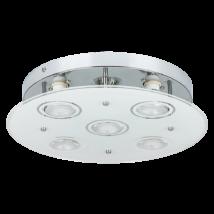 Naomi LED GU10 x5 15W 3000K 400Lm D33 mennyezeti lámpa Rábalux 2514