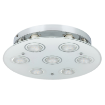 Naomi LED GU10 x7 15W 3000K 400Lm D35 mennyezeti lámpa Rábalux 2518