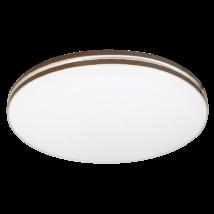 Oscar LED 18W 1350 Lm 4000K természetes fehér mennyezeti lámpatest barna Rábalux 2763