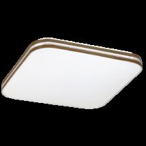 Oscar LED 18W 1350 Lm 4000K D35 természetes fehér négyzet mennyezeti lámpatest  barna Rábalux 2764