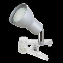 Fred LED 3W 250 Lm 3000K meleg fehér csiptethetős lámpatest Rábalux 3476