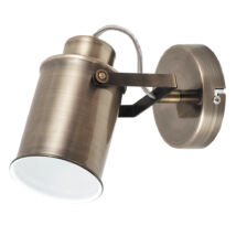 Peter vintage antik bronz fali lámpatest E27 Rábalux 5981