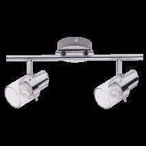 Dakota LED 2x4,5W króm,kristály spot lámpatest Rábalux 6672