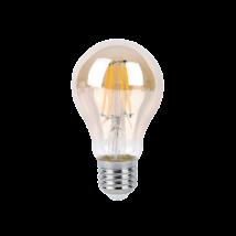 LED 10W E27 850Lm 2700K füst filament borostyán izzó 230V Rábalux 1657