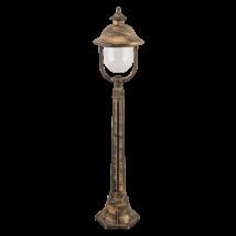 New York kültéri álló lámpa E27 100W IP44 antik arany Rábalux 8700