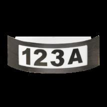 Innbruck kültéri házszám E27 14W antik arany IP44 Rábalux 8748