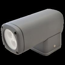 Tracon LED 6W 360 Lm kültéri dekor fali lámpa egyirányú 4000K természetes fehér GARCA6W