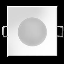 LED 5W 350Lm 4000K természetes fehér süllyesztett beépíthető szögletes SMD IP20/IP65 lámpatest 2 Év Garancia GXLL023 Greenlux Bono
