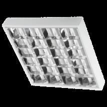 Greenlux 4x9W Dupla parabolatükrös  60cm LED fénycsőre előkészített armatúra lámpatest ORI LED GXRP039