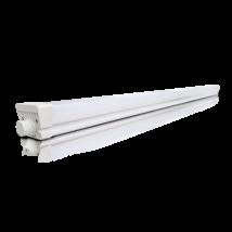 LED 20W 2000 Lm 60 cm Por és Páramentes lámpatest DUST PROFI LED természetes fehér sorolható lámpatest PC búrás IK08 IP66 Greenlux GXWP370