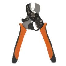 Handy vágó-és kábelblankoló fogó ergonómikus markolattal 0.8 - 2.6 mm 10129