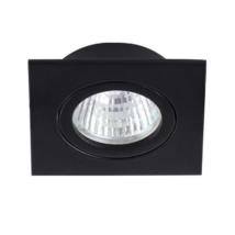 Kanlux álmennyezeti beépíthető spotlámpa billenthető fekete lámpatest DALLA CT-DTL50-B