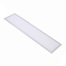 LED PANEL 48W 3840lm 120X30cm 6000K hideg fehér tápegységgel 1200x300 OPTONICA