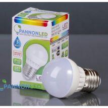 LED lámpa izzó gömb E27 3W  250Lm 230° WW Meleg fehér (3W PL3037)