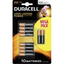Duracell elem Basic tartós alkáli mikro ceruzaelem AAA 1,5V LR03
