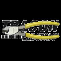 Tracon Kábelvágó szerszám Cu/Al kábelekhez 16mm2 (5,5mm) 190g CC22