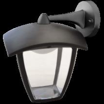 Tracon LED 7W 290Lm kültéri fali lámpa lefele álló karos 4000K természetes fehér GARD7W