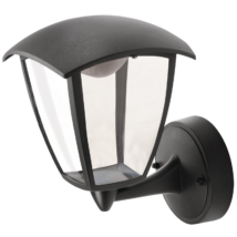 Tracon LED 7W 290 Lm kültéri fali lámpa, felfele álló karos 4000K természetes fehér GARU7W