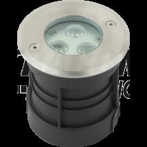 Tracon LED földbe taposólámpa 3W 210 lm 4500K természetes fehér süllyeszthető lámpatest LGL3W