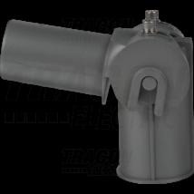 Tracon LED utcai lámpa állítható lámpafej-adapter  90+20-10°, 180+20-10°, 60/60mm