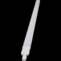 Tracon por és páramentes ipari LED lámpatest 18W 4000K természetes fehér 1600lm 120cm IP65 LVE1218W