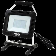 Tracon LED 30W 2400Lm 4000K hordozható LED szerelő fényvető RSMDAW30W