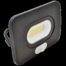 Tracon SMD 10W 4000K 750 Lm természetes fehér fényvető mozgásérzékelővel IP65 110°, 3-10m fekete RSMDLM10