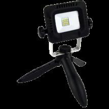 Tracon LED 10W 800Lm 4000K Összecsukható állványos kézi LED fényvető RSMDTRI10W