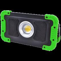 Tracon Bluetooth hangszórós 15W 1500lm akkumulátoros LED reflektor fényvető STLFLBT15W