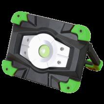 Akkumulátoros LED 10W 6500K 1000 Lm 3,7V 4400 mAh Li-Ion   szerelő reflektor külső akkumulátor funkcióval STLFL10W