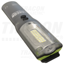 Tracon Nagy teljesítményű LED kézilámpa 10/3W 6500K  3,7V, 6600 mAh Li-Ion 1000/220lm 3/9h IP54 STLHL10W